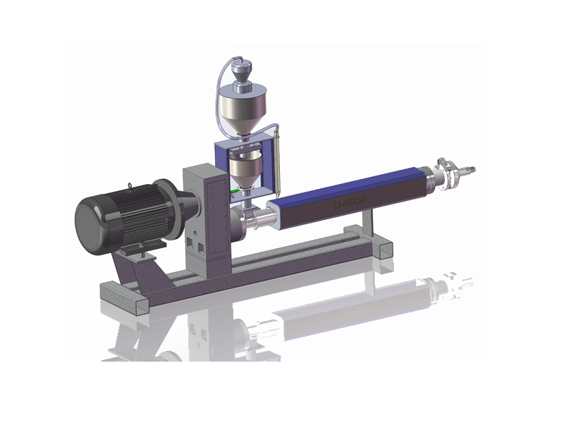 New type of high output energy-saving extruder