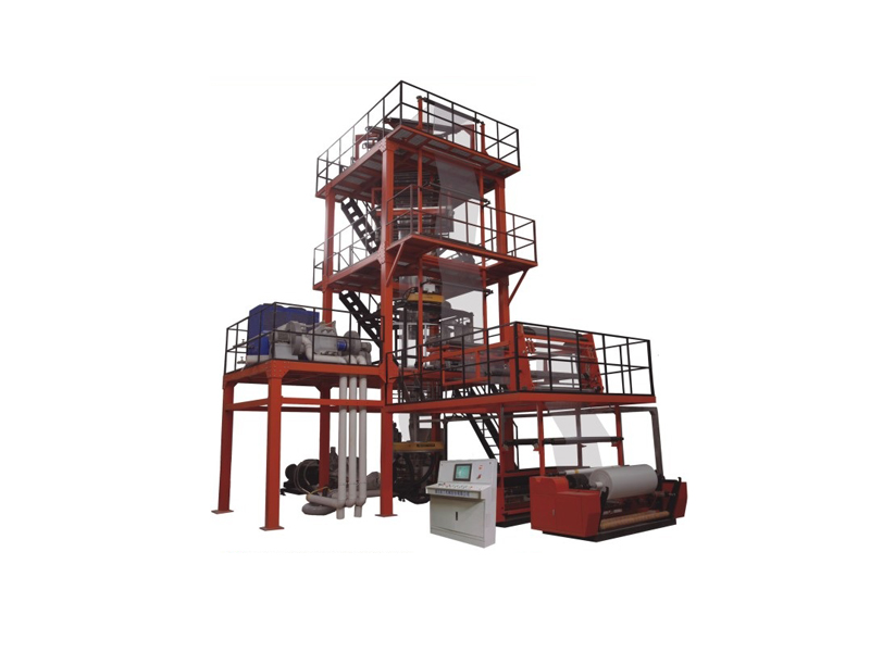 Five-layer co-extrusion blown film production line